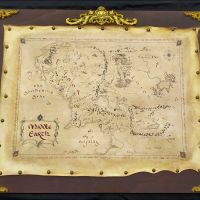 mappa middle earth