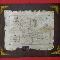 Mappa Middle Earth pala
