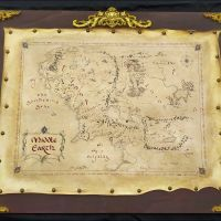 Mappa Middle Earth pala 2